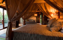saadani river lodge bed