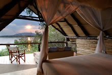 Sand Rivers Camp Selous - suite room