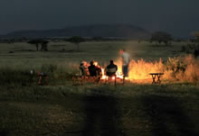 lemala mara camp fire